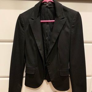 Express Black Work Blazer